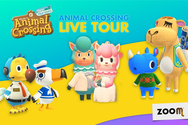 Arriva il Live Tour di Animal Crossing al Bioparco ZOOM di Torino
