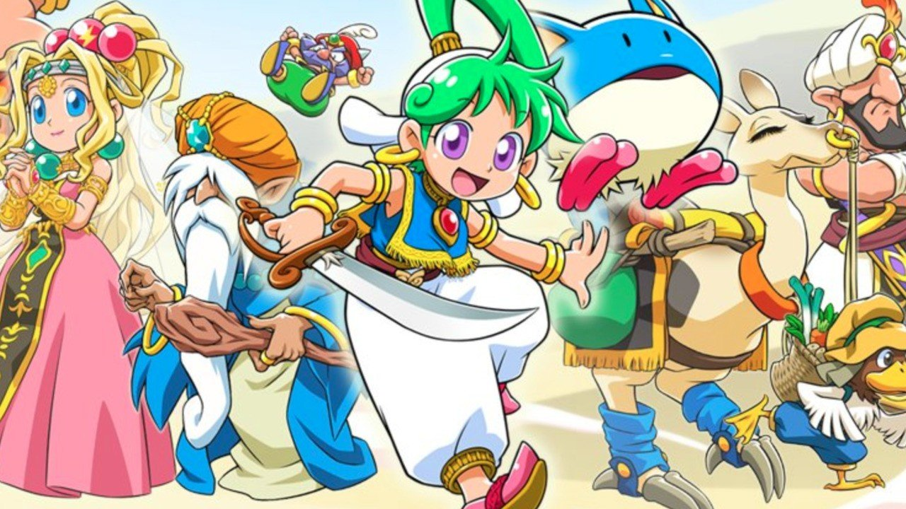 Wonder Boy Asha in Monster World: svelata la data di uscita occidentale del titolo