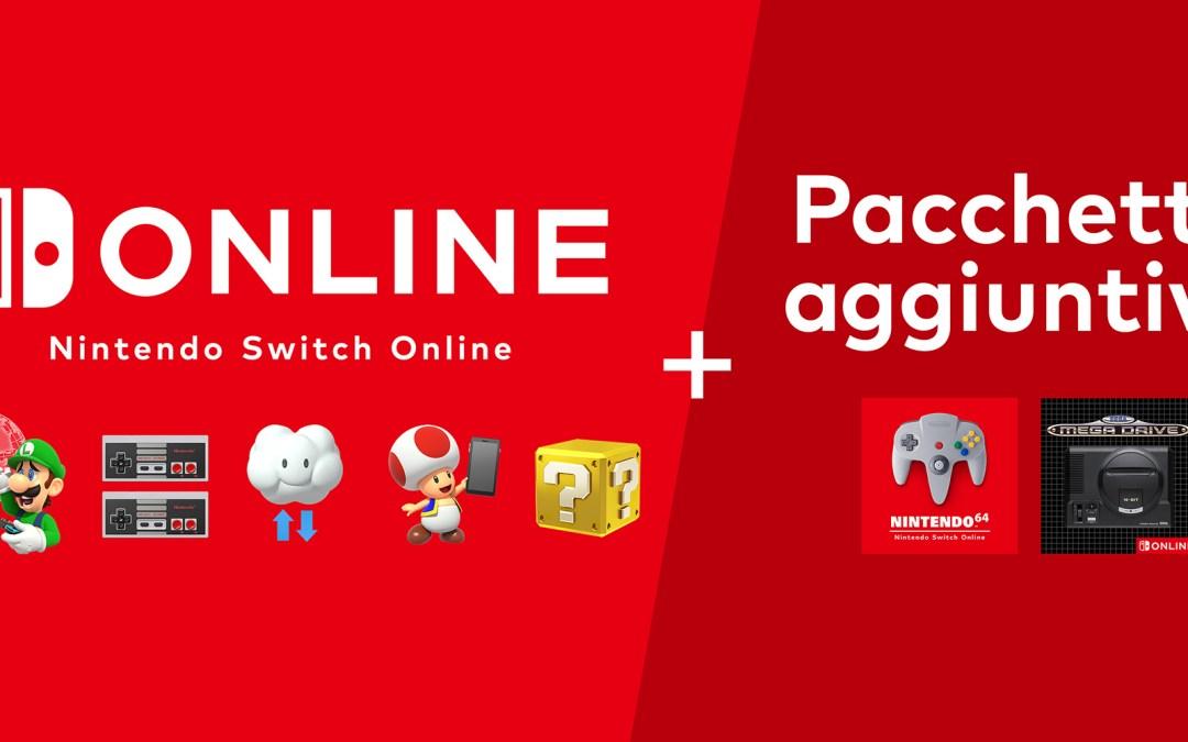Nintendo Switch Online: presto saranno disponibili i titoli del Nintendo 64 e del SEGA Mega Drive con un nuovo pacchetto