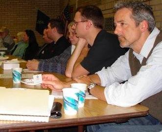 Community meeting in North Portland