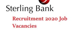 Sterling Bank plc job recruitment NIB Relationship Officer 2020 Apply Here