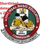 UBEC Federal Teachers Scheme recruitment FTS Shortlisted Candidates for Screening