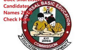 UBEC Federal Teachers Scheme recruitment FTS Shortlisted Candidates for Screening