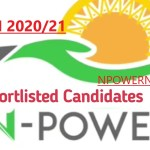 Npower Batch C List of Shortlisted Candidates for N-Tech 2020/2021 check here