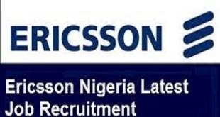 Ericsson Nigeria Jobs Recruitment Engineering Graduates Programme
