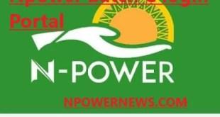 Npower Batch C Login Portal 2020 Npower News npower.fmhds.gov.ng