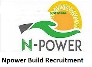 Npower Build Recruitment update 2020/2021: see N-Build Registration Link Portal