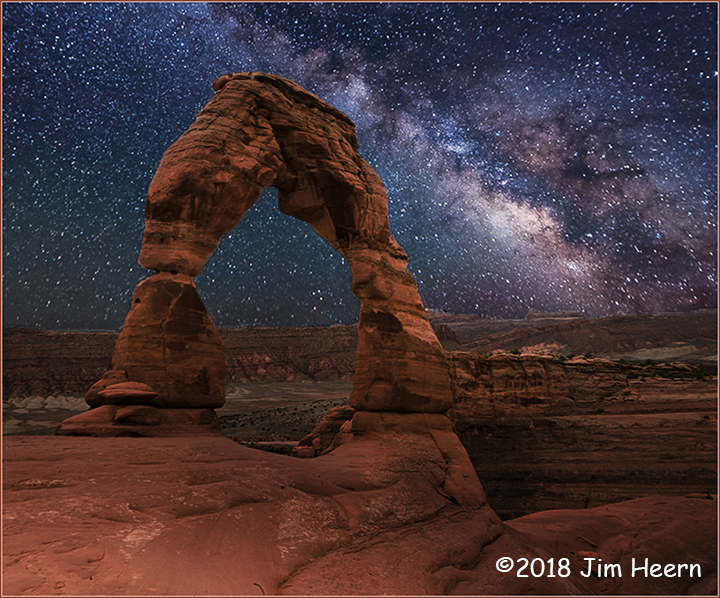 1st Place Scenic - Delicate Arch by Jim Heern