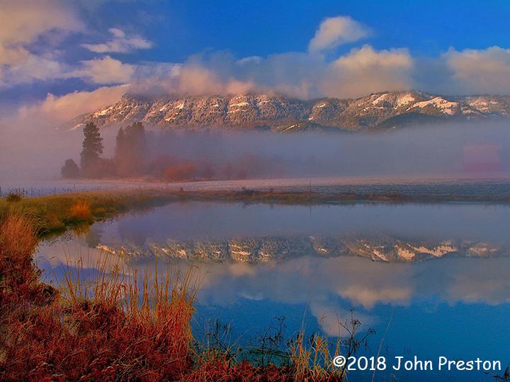 3rd Place Scenic - Mt. Emily Farm by John Preston