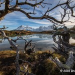 1st Place Scenic - Los Cuernos Patagonia by Bruce Leonard