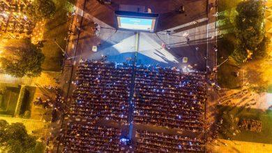Photo of Σε θερινό σινεμά μετατράπηκε η πλατεία Αριστοτέλους- Φανταστικές εικόνεςh