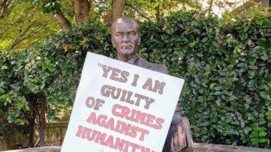 Photo of ΗΠΑ: Κρέμασαν επιγραφές κατά της γενοκτονίας των Ποντίων σε άγαλμα του Κεμάλ
