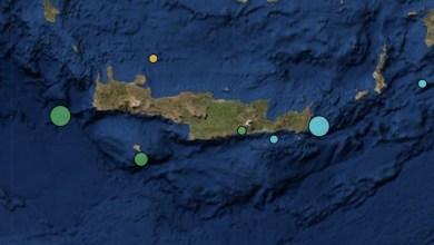 Photo of Νέοι σεισμοί στην Κρήτη: 4,1 και 4,3 Ρίχτερ μέσα σε μισή ώρα