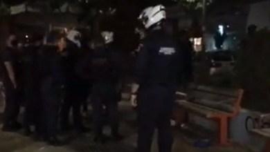 Photo of Έφοδος της αστυνομίας σε πλατεία στο Παγκράτι (βίντεο)