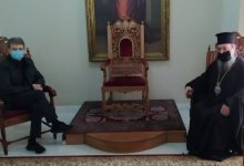 Photo of Συνάντηση Χρυσοχοΐδη με τον Μητροπολίτη Πατρών  ενόψει της γιορτής του Αγίου Ανδρέα