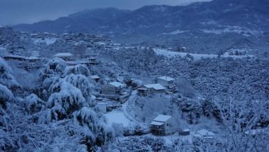 Photo of Κοιλάδα του Αχελώου: Εντυπωσιακές εικόνες από το χιονισμένο τοπίο