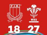 6 Nations Festival: l'Italia U18 si arrende al Galles