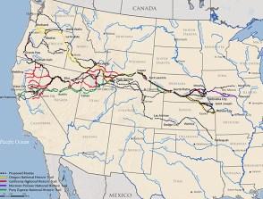 4Trails feasibility study map
