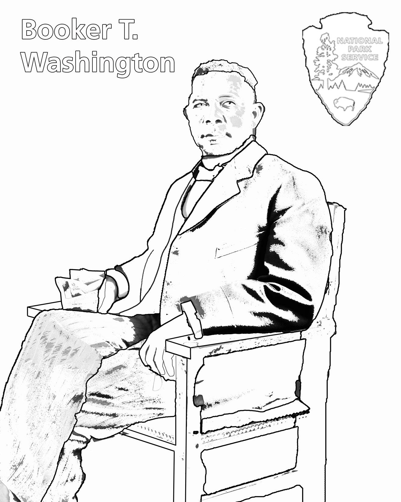 Charles Young Buffalo Sol Rs Coloring Book