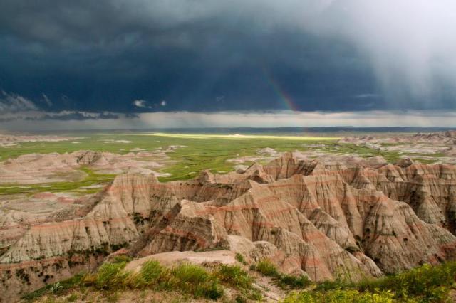 Rainbow During a Badlands Storm. Source: NPS.gov (https://i1.wp.com/www.nps.gov/common/uploads/photogallery/20150108/park/badl/F33ED138-EEAD-1B72-A9B6777B275839D1/F33ED138-EEAD-1B72-A9B6777B275839D1-large.jpg?resize=640%2C426&ssl=1)