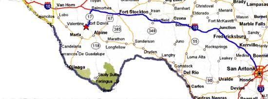 Kerrville Texas Weather Map