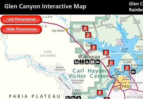 Glen Canyon Interactive Map - Glen Canyon National ...