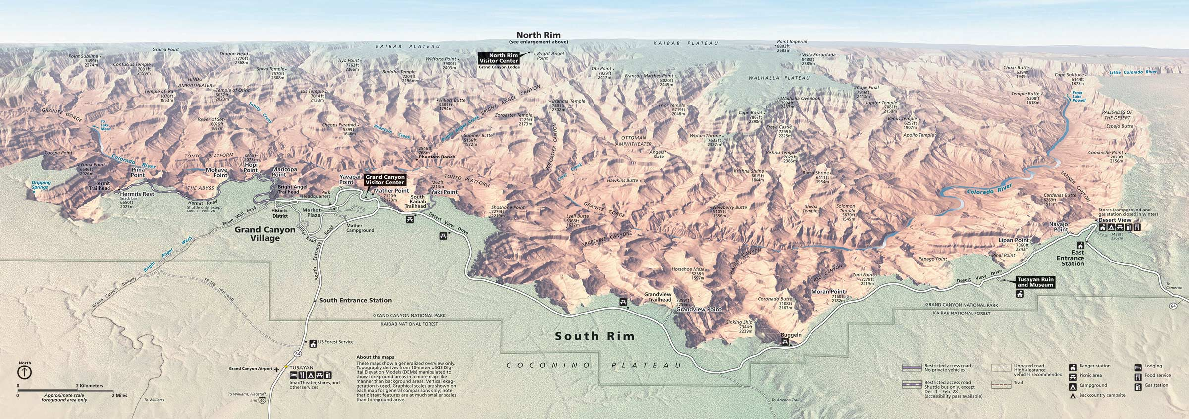 Learn more at howstuffworks now. Maps Grand Canyon National Park U S National Park Service