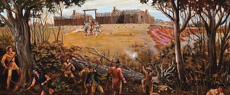 Arkansas Post National Memorial    American Latino Heritage  A     Colbert s Raid on the Spanish fort at Arkansas Post on April 17  1783 marks  one