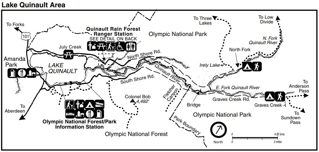 Olympic National Park Fun Fact