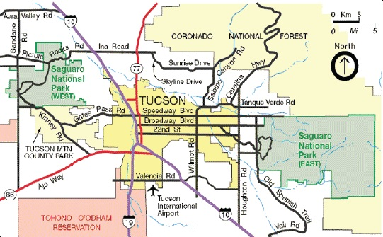 Directions to the Park - Saguaro National Park (U.S. National Park Service)