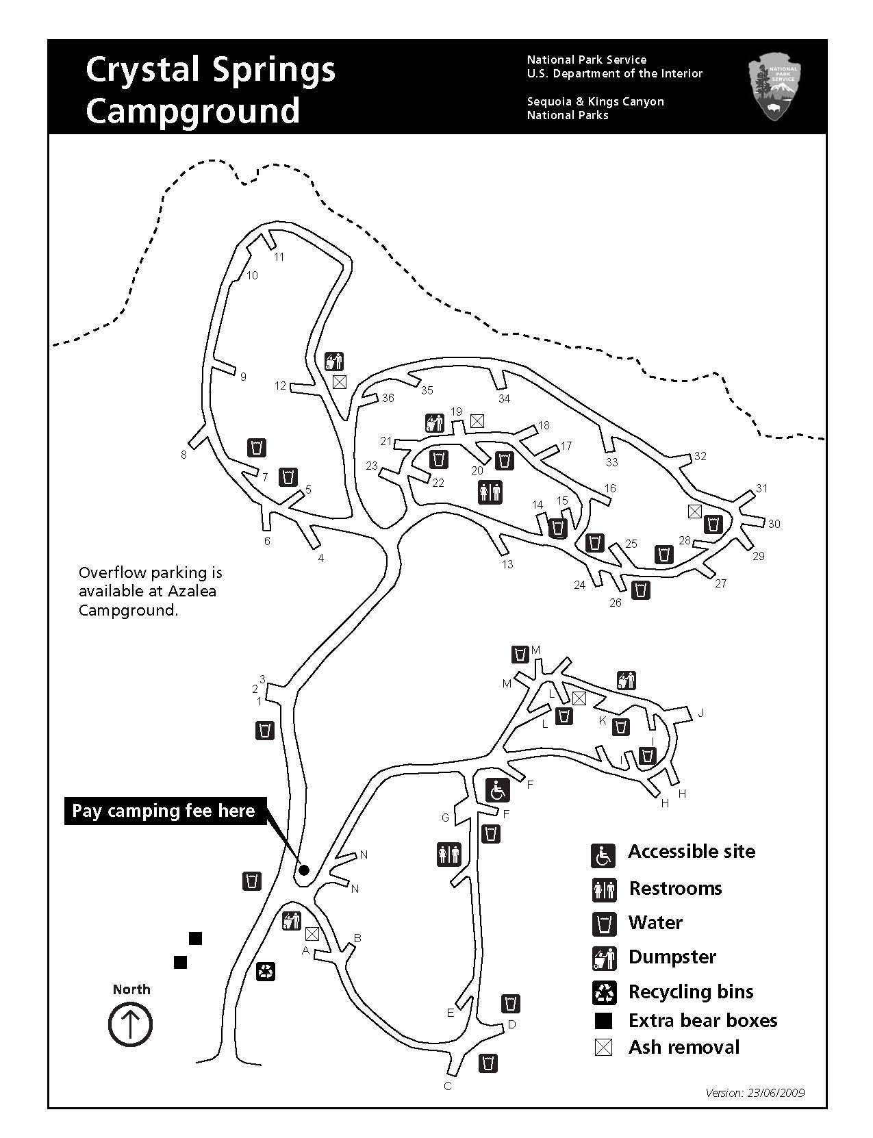 Lodgepole Campground Utah Map