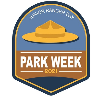 National Park Week Junior Ranger Day logo