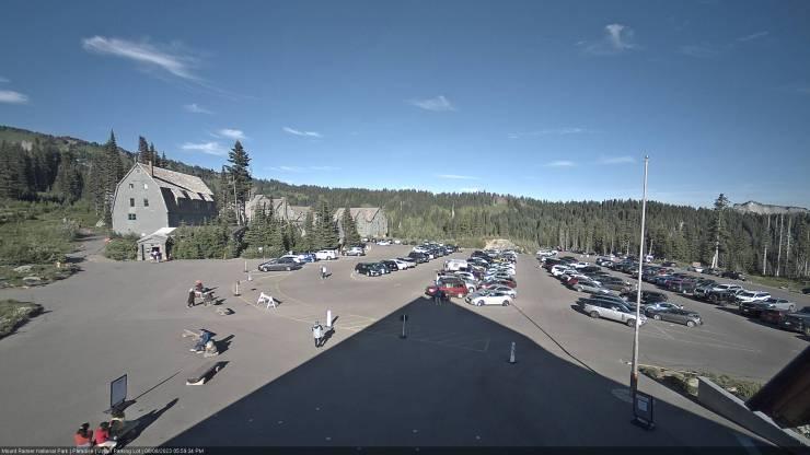webcam paradise, mt. rainier