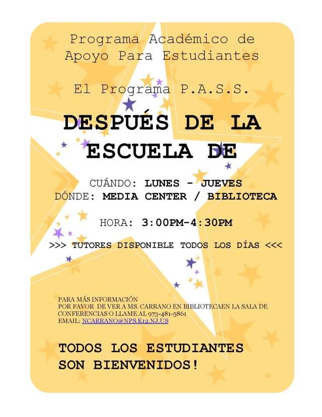 PASS_After-School-Tutoring-Flyer_SPANISH_V2