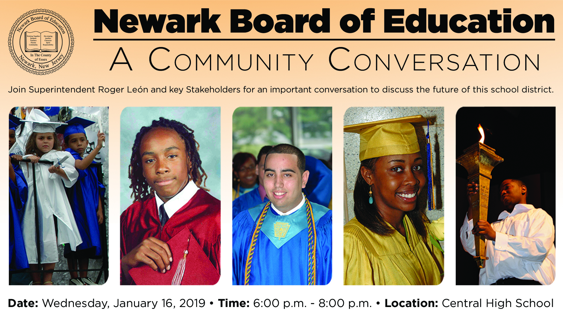 Leon County School Calendar 2019-18 A Community Conversation on Education   Newark's Superintendent