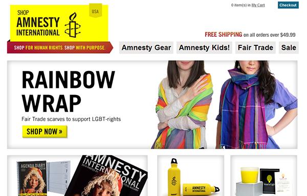 Amnesty International Online Store
