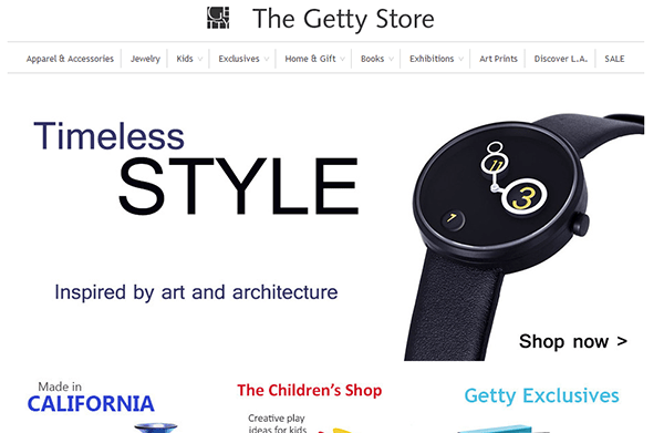 Getty Museum Store