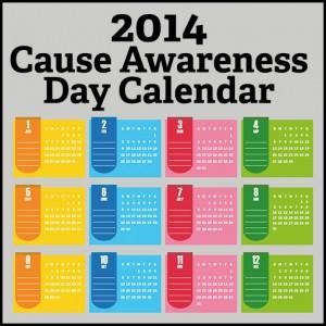 2014 Cause Awareness Days
