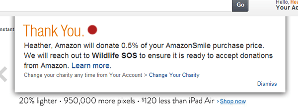 Amazon Smile Sign Up 4