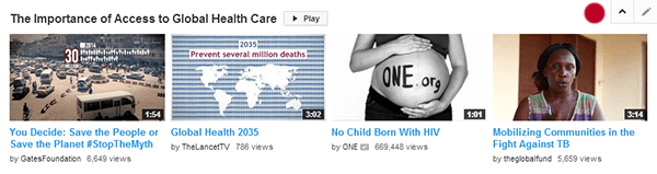YouTube Nonprofits Five