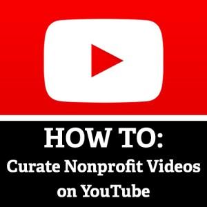 YouTube Playlists Nonprofits
