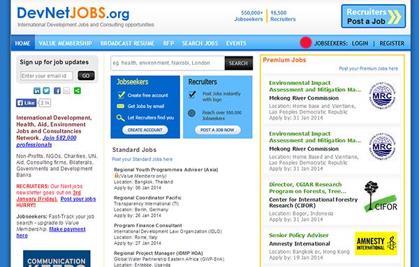 dev net jobs