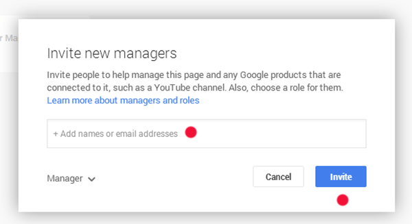 Google+ Managers