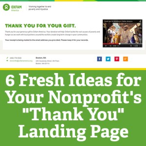 Thank You Landing Page Square
