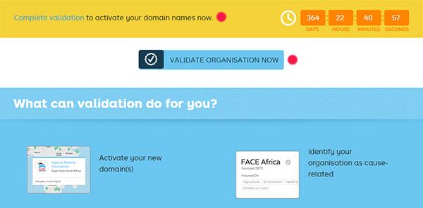 NGO Validation