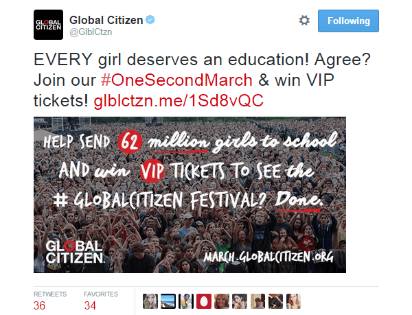 Twitter Image Alley Global Citizen