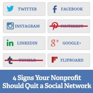 4 Signs Your Nonprofit Should Quit a Social Network Square