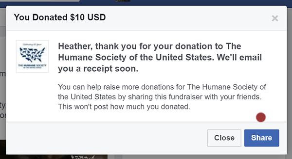 share donation