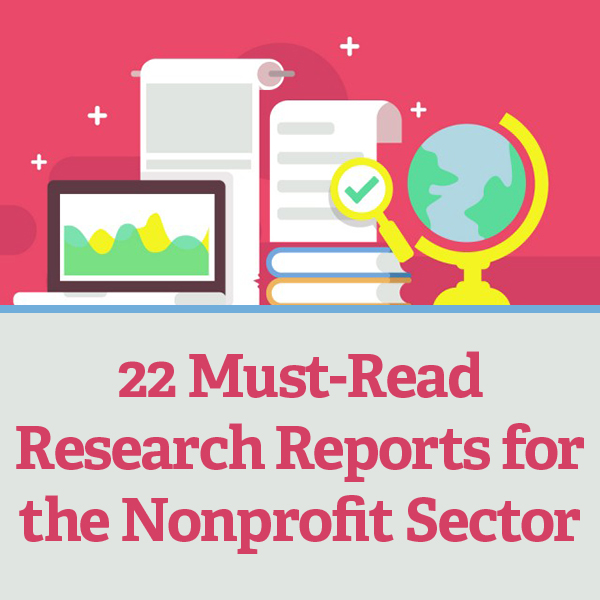 22 Must-Read Research Reports for the Nonprofit Sector