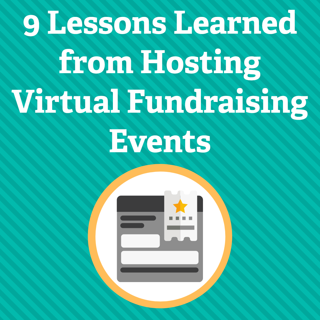 9 Lessons Learned from Hosting Virtual Fundraising Events via @nonprofitorgs